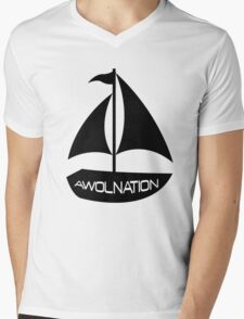 Sail AWOL Mens V-Neck T-Shirt