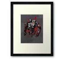 Deathtrap Framed Print