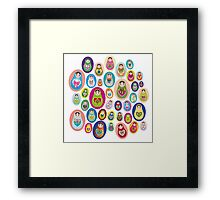 doll matryoshka Framed Print
