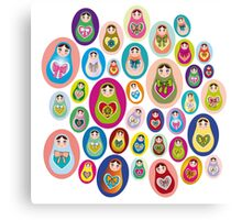 doll matryoshka Canvas Print