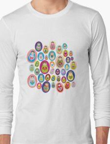 doll matryoshka Long Sleeve T-Shirt