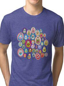 doll matryoshka Tri-blend T-Shirt