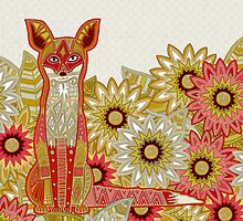garden fox by Sharon Turner