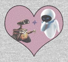 Wall-E and Eve by quinsea