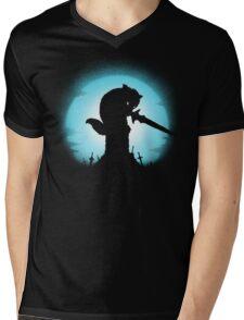 GRAVESTONE GUARDIAN Mens V-Neck T-Shirt