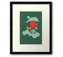 Little Welsh Dragon Framed Print
