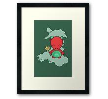 Little Welsh Dragon Framed Print
