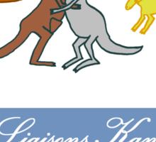 Les Liaisons Kangaroos Sticker