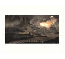 Dune Ruins Art Print