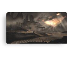 Dune Ruins Canvas Print