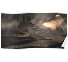 Dune Ruins Poster
