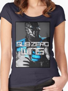 Sub Zero Wins Women's Fitted Scoop T-Shirt