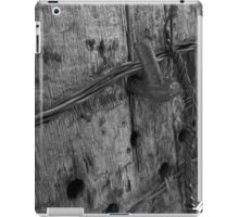 Old Fence Post iPad Case/Skin
