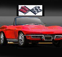 1965 Chevrolet Corvette Convertible by DaveKoontz