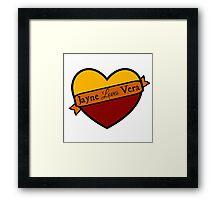 Jayne Loves Vera Framed Print