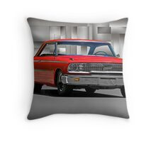 1963 Ford Galaxy 427 cu. in. Throw Pillow