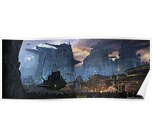 BladeRunner City Poster