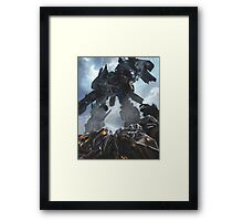 Power Up optimus prime Framed Print