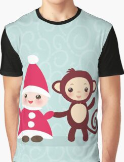 gnome and monkey  Graphic T-Shirt