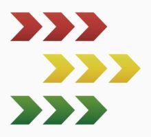 Reggae Style Arrows by reggae-paradise
