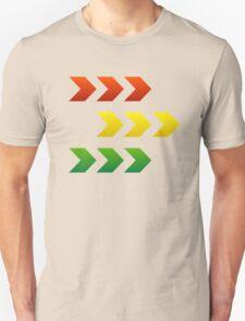 Reggae Style Arrows T-Shirt