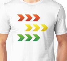 Reggae Style Arrows Unisex T-Shirt