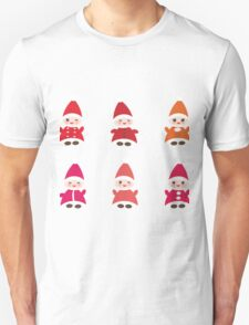 Merry Christmas, Happy New Year card, Funny gnomes T-Shirt