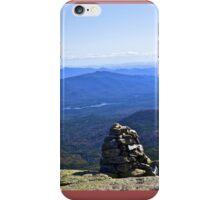 Mount Washington Cairn iPhone Case/Skin