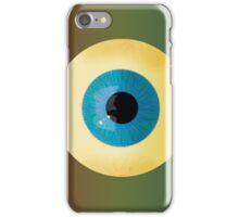 glass eye iPhone Case/Skin