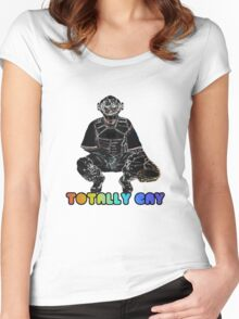 Totally Gay Women's Fitted Scoop T-Shirt