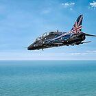 Hawk XX307 aircraft by Martyn Franklin