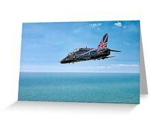 Hawk XX307 aircraft Greeting Card