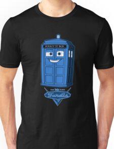 Tardis McQueen version 2 Unisex T-Shirt