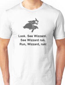 Miscellaneous - run, wizzard, run - gray Unisex T-Shirt