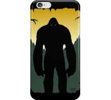 Bigfoot Silhouette iPhone Case/Skin