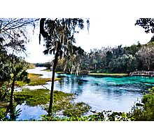 Rainbow Springs State Park Headwaters Photographic Print