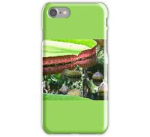 Giant lily pad and bud iPhone Case/Skin