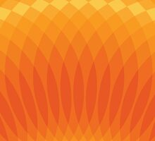 Orange Circle Fun by scbb11Sketch