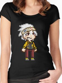 Soul Eater Evans Pixel Women's Fitted Scoop T-Shirt