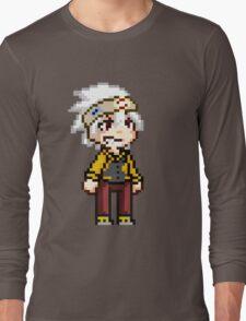 Soul Eater Evans Pixel Long Sleeve T-Shirt