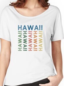Hawaii Cute Colorful Women's Relaxed Fit T-Shirt