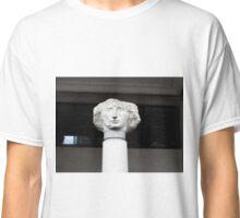 Statue Head, London, England | Stout Classic T-Shirt