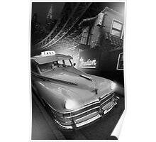 Metropolis Cab Poster