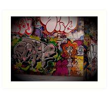 Graffiti, London, England | Wacky Art Print