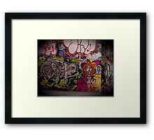 Graffiti, London, England | Wacky Framed Print