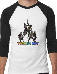 Totally Gay Men's Baseball ¾ T-Shirt