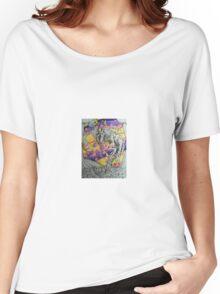 Creature Face Monster Heart Women's Relaxed Fit T-Shirt