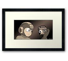 Mega Hamlet, Sepia Framed Print
