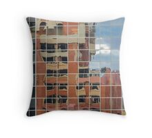 Twisted City 3 Throw Pillow