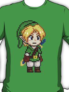 Legend of Zelda - Link Pixel T-Shirt